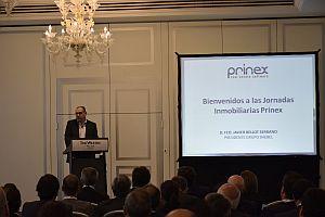Prinex reúne a más de 100 altos directivos del sector en sus primeras Jornadas Inmobiliarias