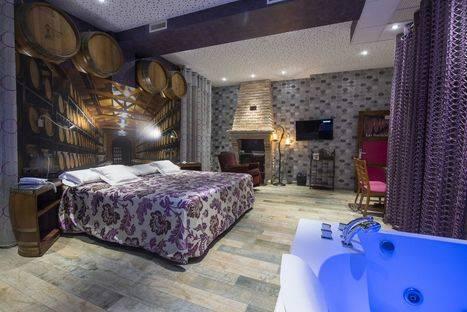 Duerme entre el cielo y el viñedo en el Hotel Boutique el Lagar de Isilla