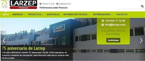 CodeSyntax renueva la web de Larzep el año que celebra su 75 aniversario