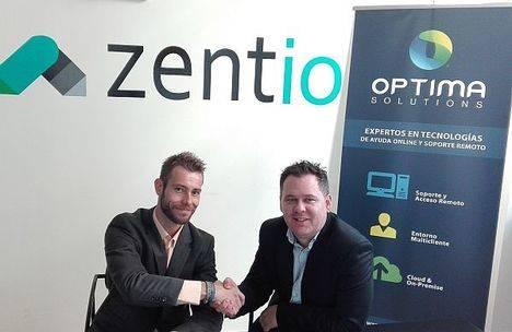 Optima Solutions y Zent.io se alían para innovar en la comunicación multicanal para Contact Centers