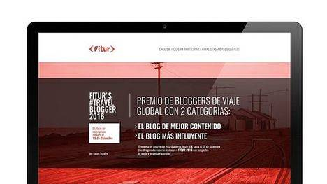 FITUR convoca una nueva edición del concurso TravelBlogger 2016, que premia a los mejores bloggers de turismo