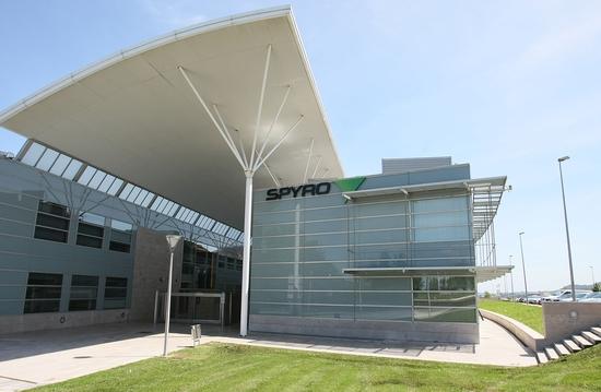 Sede central de SPYRO en el Parque Tecnológico de San Sebastián.