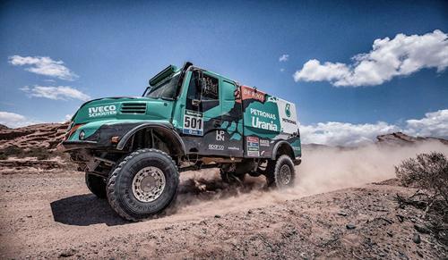 Los neumáticos Goodyear triunfan en el Dakar