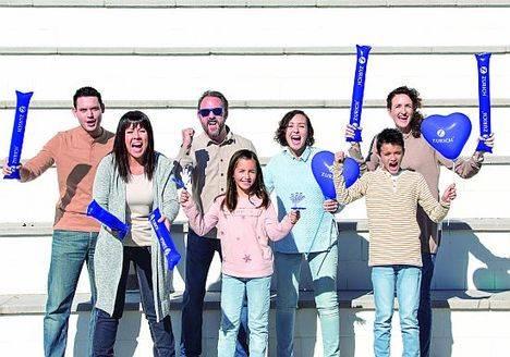 Los empleados de Zurich, protagonistas de su campaña para las maratones de Barcelona y Sevilla