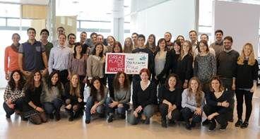 Cyberclick Group encabeza por segundo año consecutivo la lista de las mejores empresas para trabajar en España