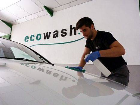 La ecotecnología de Ecowash permite el ahorro de más 69 millones de litros de agua en 10 años