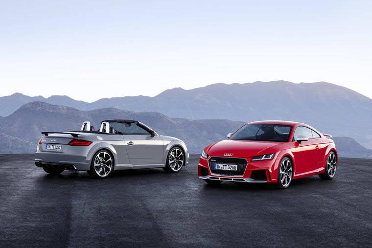 Audi TT RS Coupé y TT RS Roadster