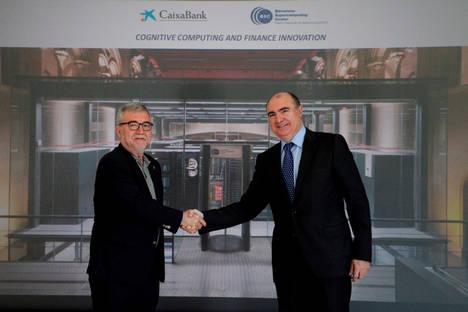 CaixaBank y el Barcelona Supercomputing Center investigarán la aplicación de la computación cognitiva a la innovación financiera