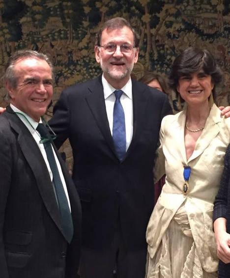 María Benjumea, fundadora de Spain Startup-South Summit, galardonada con la Medalla de Oro al Mérito al Trabajo