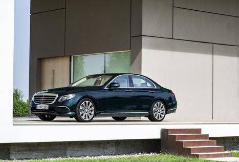 La nueva Clase E de Mercedes