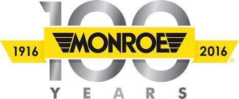 Monroe, la marca líder en el mundo de productos de suspensión para vehículos, celebra su centenario