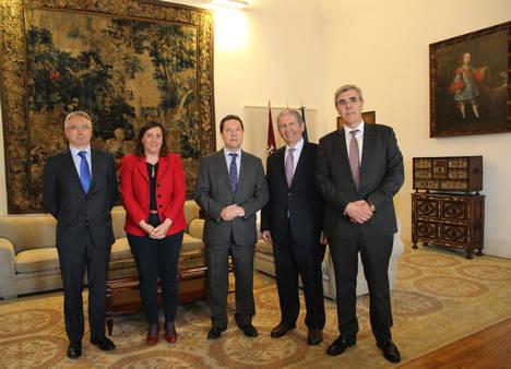 El presidente del Grupo CLH se reúne con el presidente de Castilla -La Mancha