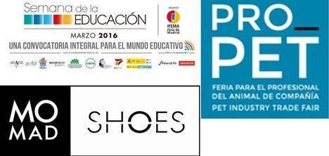 Cerca de 1.300 empresas, marcas y entidades del sector Educativo, Mascotas y Calzado, se dan cita esta semana en Feria de Madrid