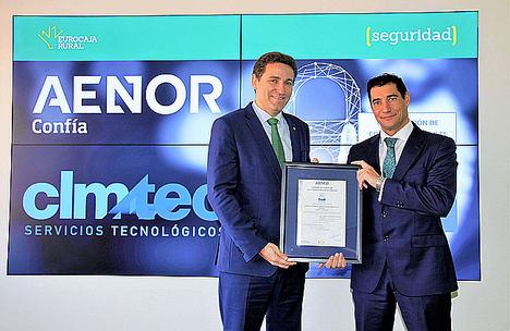 AENOR otorga a CLMTEC, del Grupo Eurocaja Rural, la certificación del Esquema Nacional de Seguridad (ENS) por la calidad y seguridad de sus sistemas de información
