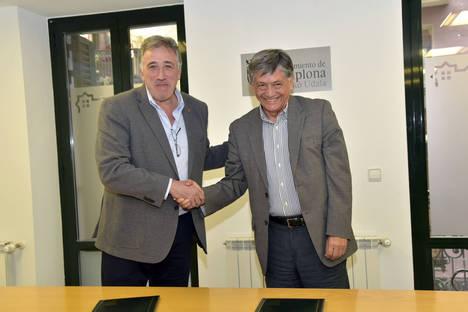 El Ayuntamiento de Pamplona pone a disposición de Ecuador una oficina donde funcionará su servicio jurídico hipotecario