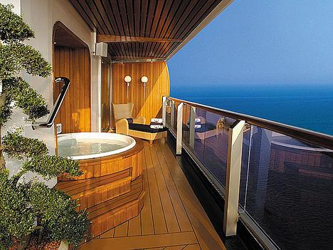 Las 10 suites de crucero más grandes y lujosas del mundo