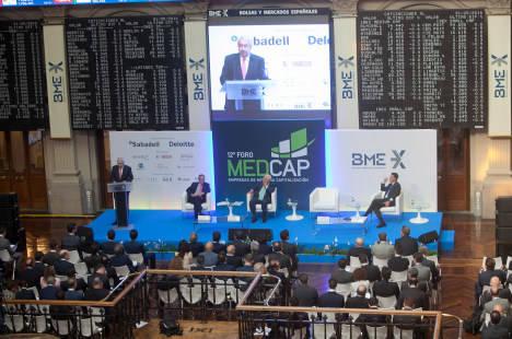 Discurso de Antonio Zoido, Presidente de BME, con ocasión del 12º Foro Medcap, que se celebra hoy y mañana en el Palacio de la Bolsa de Madrid.