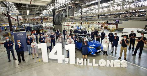 14,1 millones de vehículos producidos en el Centro de Vigo