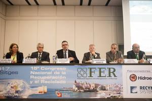 Los líderes mundiales de la industria del reciclaje hacen un llamamiento a la unidad del sector en el 15º Congreso de FER