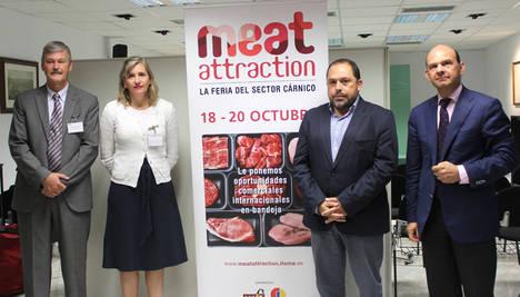 El secretario general de Agricultura de la Junta de Andalucía resalta Meat Attraction como una oportunidad de negocio para el sector cárnico