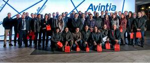 Grupo Avintia realiza un acto de reconocimiento a los empleados que han cumplido 10 años en la compañía