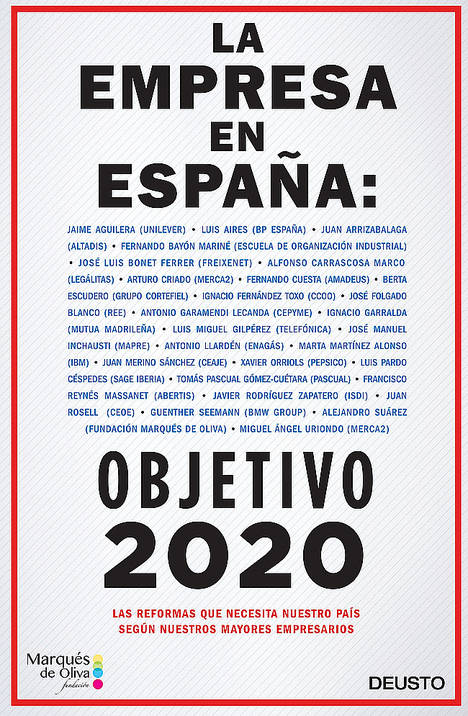 Empresarios y sindicatos exponen en un decálogo los retos de la empresa en España de cara al 2020