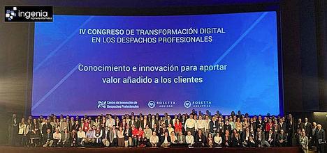 Hasta 200 asistentes en el IV Congreso de Transformación Digital patrocinado por INGENIA