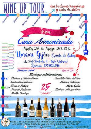 El vino y la gastronomía llegan a Gijón y Oviedo de la mano del Wine Up Tour