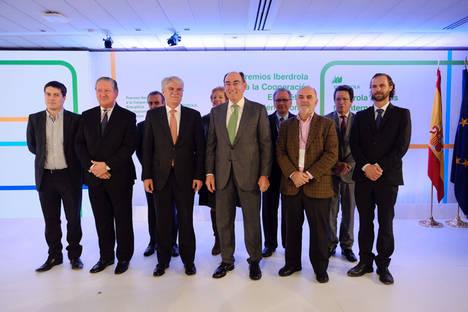 Galán y Dastis, en la entrega de II Premios Iberdrola a la Cooperación Energética Internacional.