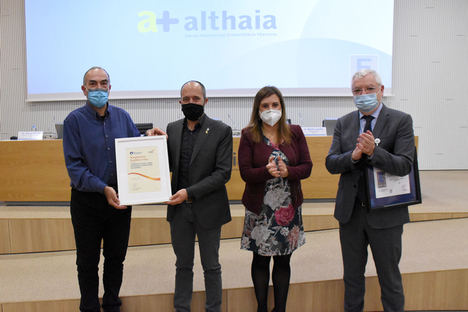 Althaia obtiene el Sello de Excelencia Europea EFQM 400+ que pone en valor la calidad de su servicio y la tarea de los profesionales