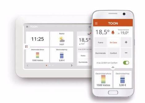 Viesgo lanza Toon, mucho más que un termostato inteligente