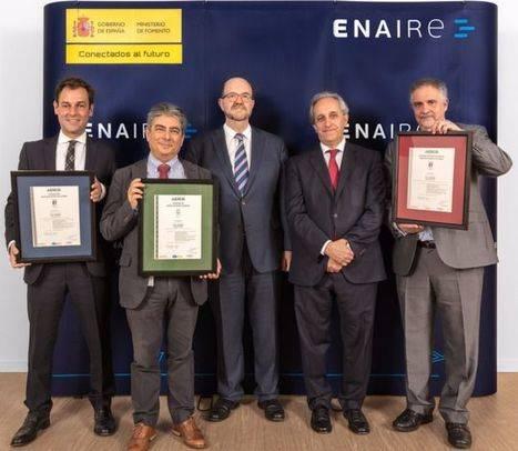 ENAIRE renueva sus certificados de Calidad, Medio Ambiente y Seguridad y Salud