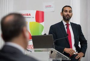 Miguel Sarwat, director de Marketing de Toshiba Tec Spain