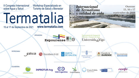 Todo preparado para el 2º Congreso Internacional sobre Agua y Salud y para el 4º Simposio Internacional sobre Termalismo y Calidad de Vida