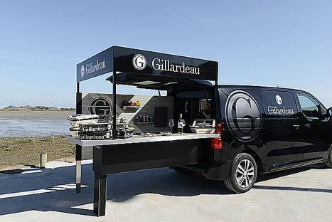 Peugeot diseña un foodtruck para la prestigiosa marca de ostras Gillardeau