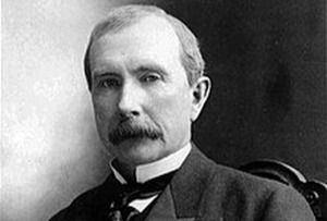 John Davison Rockefeller.