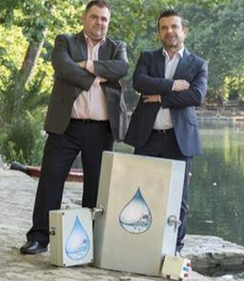 Dos valencianos inventan un sistema para ahorrar agua