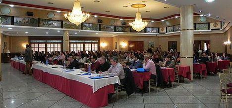 Imagen del salón donde se celebró una conferencia anterior. (Foto de archivo)