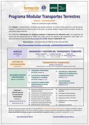 Convocado el 35º Curso de Transportes de la Fundación de los Ferrocarriles Españoles