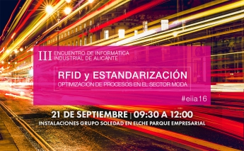 III Encuentro de informática Industrial de Alicante sobre la optimización de procesos en el sector Calzado