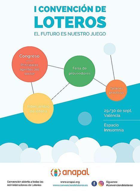 Valencia acogerá la primera Convención de loteros a nivel nacional