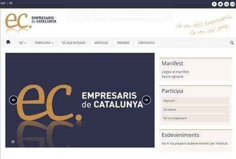 Empresaris de Catalunya pide al independentismo que deje de intentar manipular las organizaciones empresariales