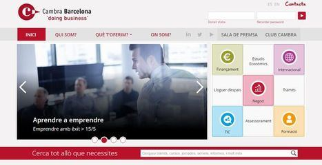La Cámara de Barcelona ha financiado con más de 360.000 euros servicios dirigidos al comercio