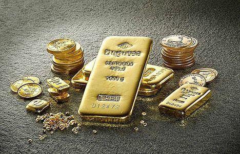 Degussa recomienda comprar los lingotes y monedas de oro en establecimientos acreditados