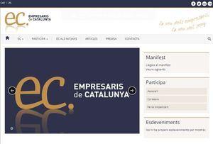 Empresaris de Catalunya acusa al Centre Català de Negocis de buscar un corralito con su boicot a la banca