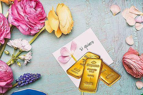 El oro físico de inversión como regalo de bodas contribuyó al incremento de las ventas de este metal precioso en 2018, según Degussa