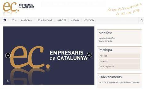 Empresaris de Cataluña denuncia que la web de la ANC es perversa porque lista de manera pasiva las empresas no favorables a la independencia
