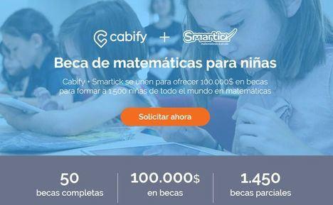Smartick y Cabify celebran el Día de la Niña recopilando experiencias de las beneficiarias de las becas matemáticas
