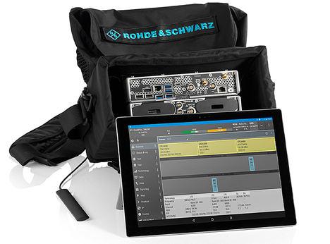 La solución 5G STS de Rohde & Schwarz aúna instrumentos de T&M para la aceptación de estaciones base gNodeB y la localización de averías
