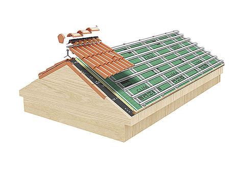 El sistema de cubierta Tectum®-First ofrece el máximo aislamiento con el menor espesor y es compatible con el estándar Passivhaus